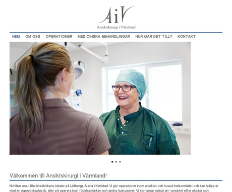 Ansiktskirurgi i Värmland