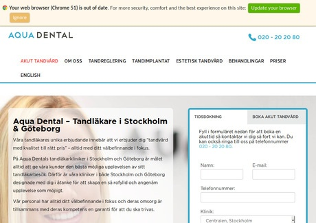 Aqua Dental Göteborg City