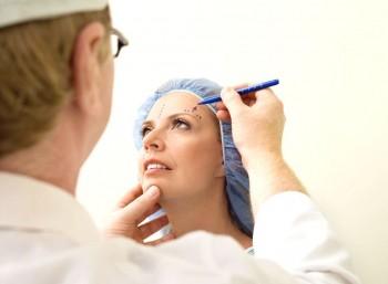 Beskrivning av operationsförloppet vid en ansiktslyftning