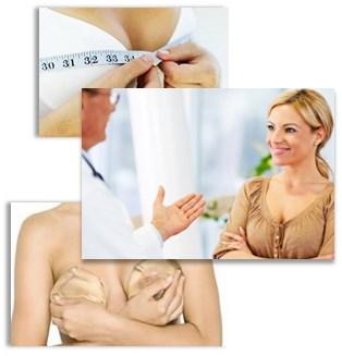 Bröstforstoring med implantat