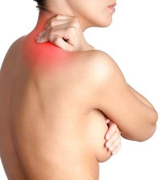 Nacksmärta är ett vanligt skäl för bröstförminskning