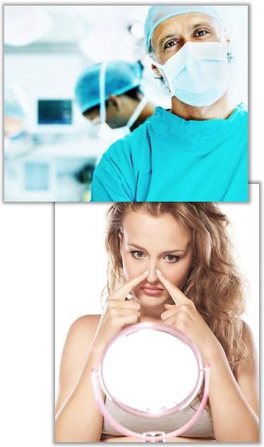Risker för komplikationer och biverkningar vid näsoperation