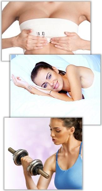 Träning, sex, och sjukskrivning efter en bröstreduktion