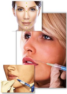 Estetiska injektionsbehandlingar