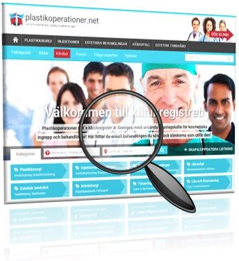 Annonsering i klinikregistret