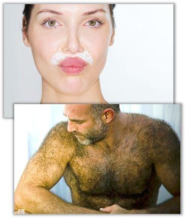 ökad hårväxt kvinna